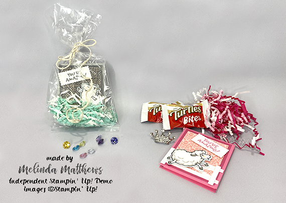 Stampin' Up! Counting Sheet Post It Note Pads by Melinda Matthews of Creative Royalty for Queen B Creations