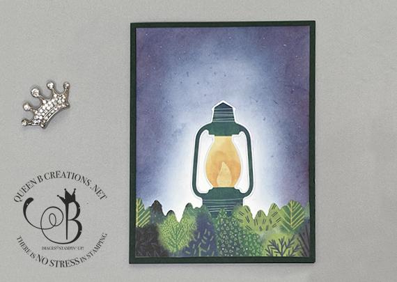 Stampin' Up! Paper Pumpkin Alternative Be the Light card by Lisa Ann Bernard of Queen B Creations