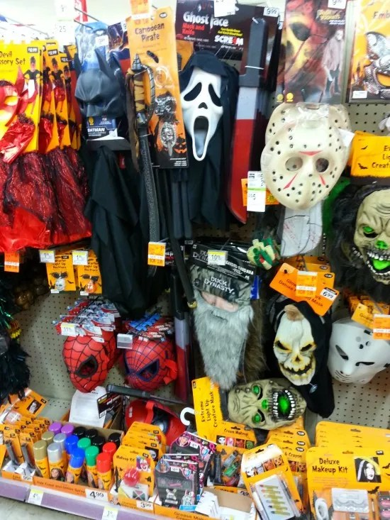 Walgreens  Halloween costumes decorations on clearance