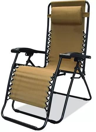 Caravan Sports Infinity Zero Gravity Chair Beige  3327