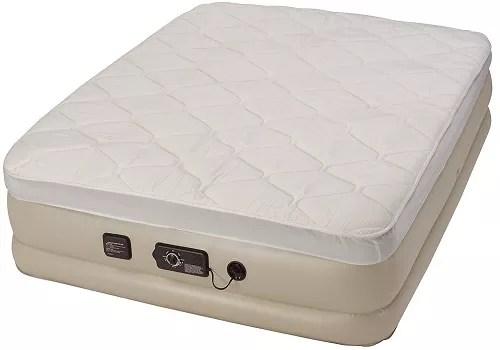 Serta Raised Queen Pillow Top Air Mattress with Never Flat