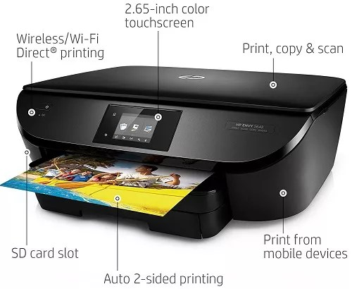 Hp Envy 5642 Wireless All In One Photo Printer With Mobile