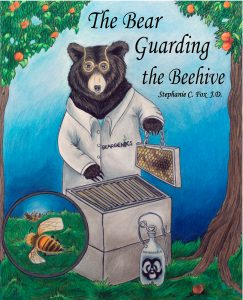 the-bear-guarding-the-beehive-cover-art-by-lauren-jane-leipold