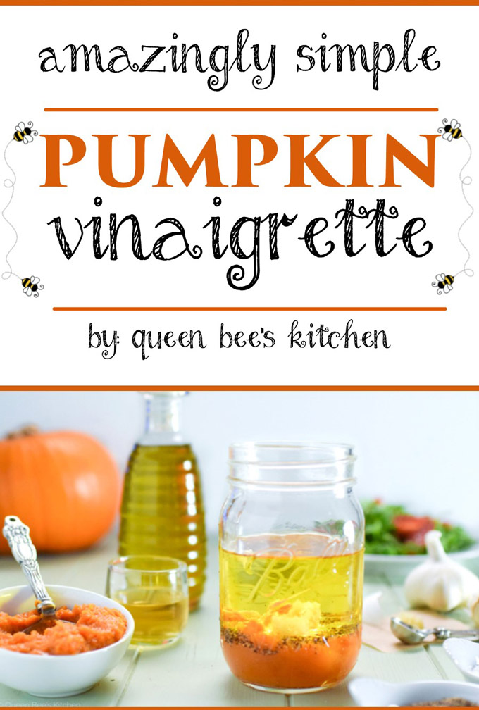 Delicious Pumpkin Vinaigrette
