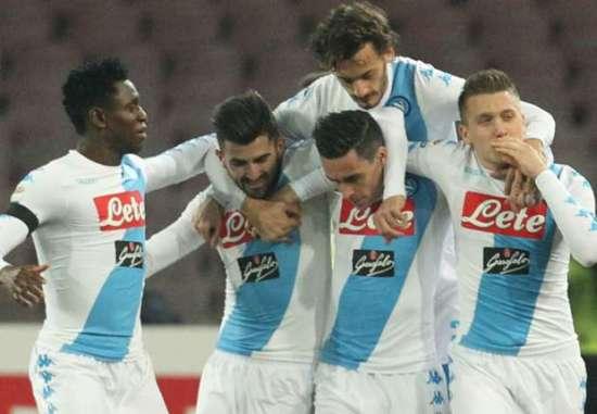 Napoli Vs Spezia 11 Januari 2017