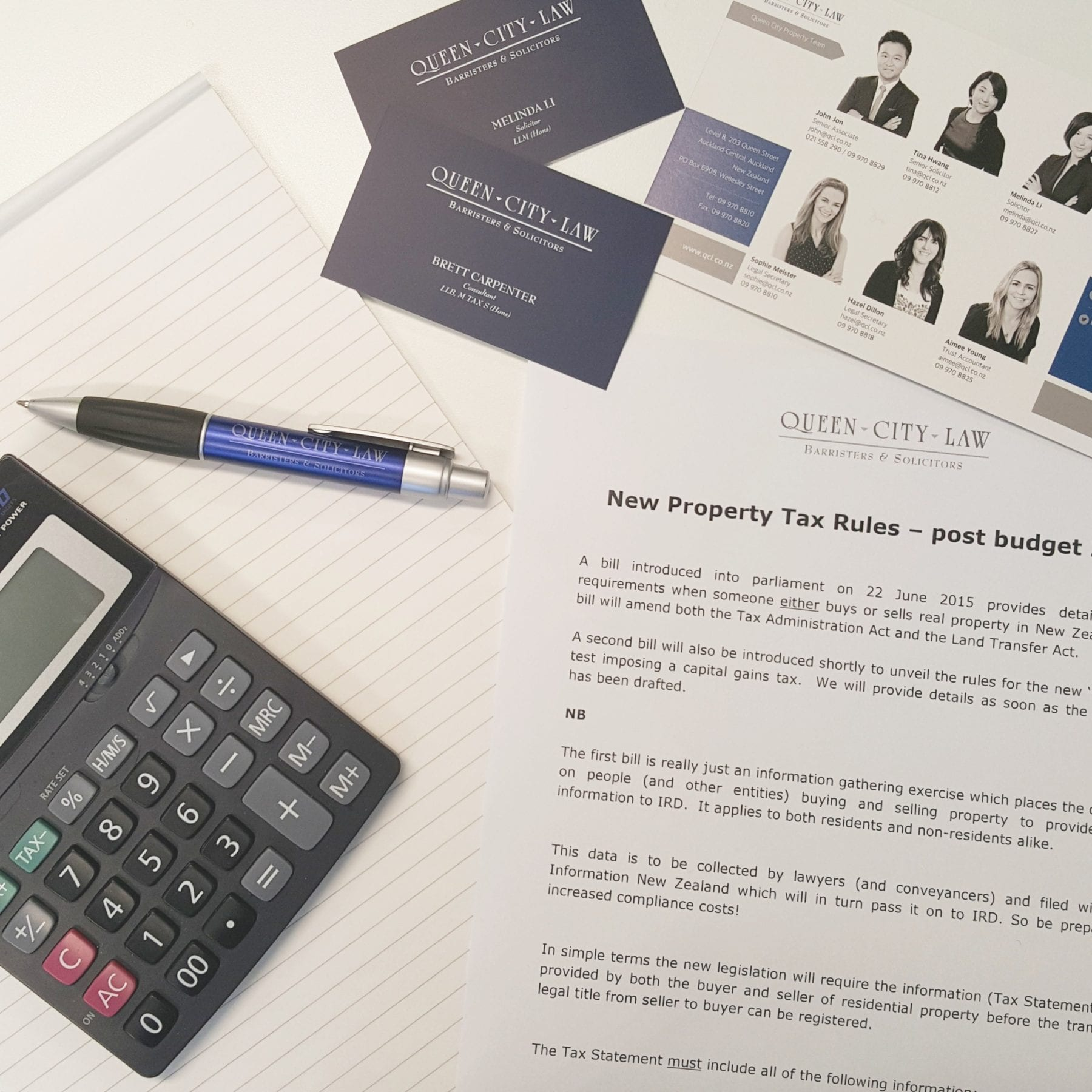 Property Tax Rules – Bright-Line Test