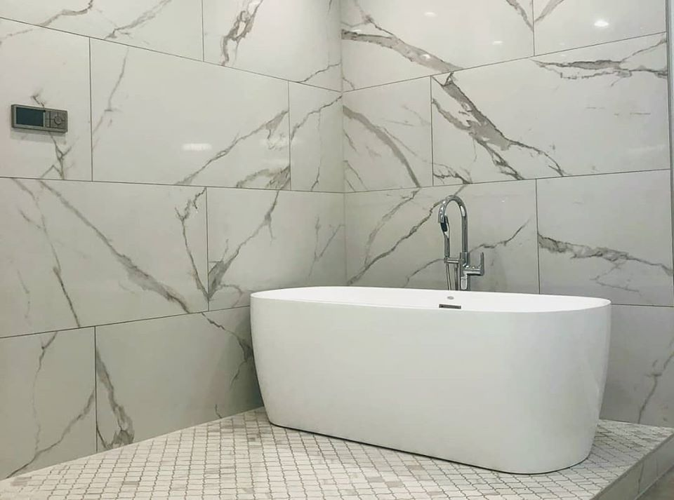 large format tile ideas in charlotte