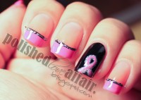 MANICURE MONDAY: BREAST CANCER AWARENESS NAIL ART