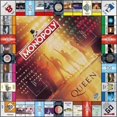 Monopoly le plateau de jeu