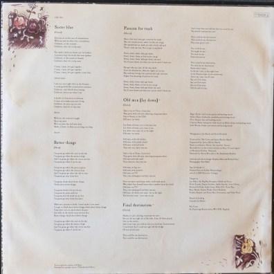 The Cross MBADTK vinyle c