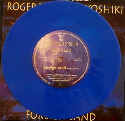 45 Tours Blu vinyl