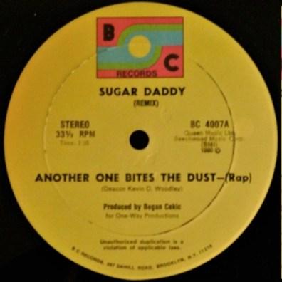 """Sugar Daddy - 12"""" Single"""