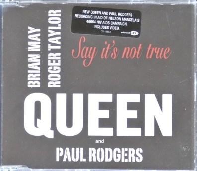 Say It's Not True CD Single