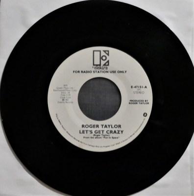 Let's Get Crazy (Stéréo - face A) - 45 Tours Radio Promo USA