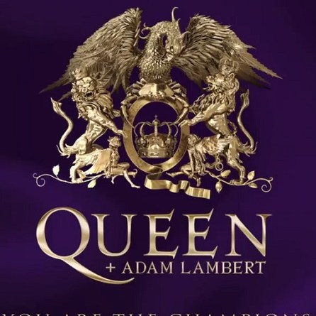 You Are The Champions – Queen + Adam Lambert – CD & 7″