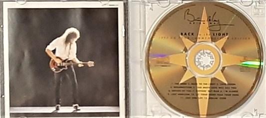 Back To the light album CD 1993 UK Tour