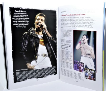 Queen in concert in Canada - Book