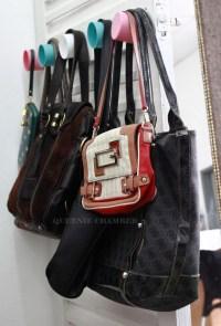 DIY : Bag Holder   QUEENIE CHAMBER