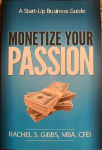 """titled """"Monetize Your Passion"""", it is a complete guide to helping those start their own businesses. I drop a lot of gems in this book. It can be purchased on Amazon."""