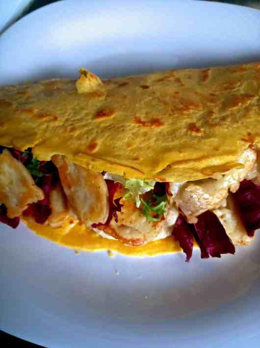 low carb lupin tortilla