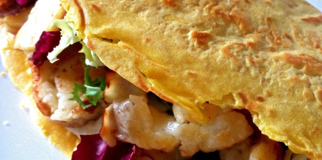 low carb white lupin tortilla