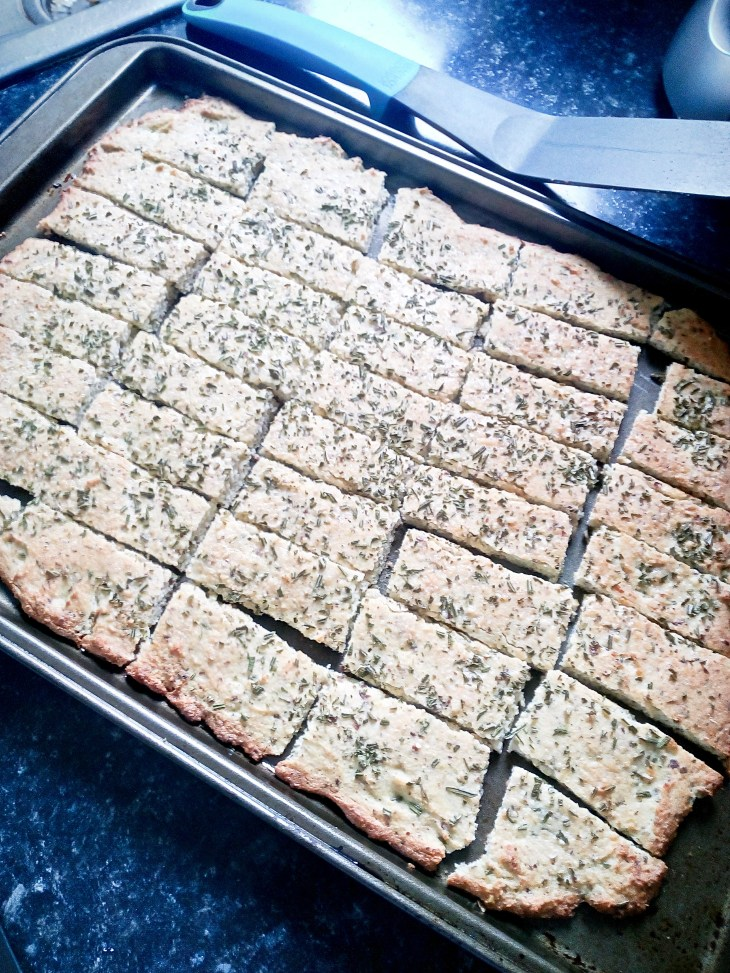 low carb rosemary focaccia bread