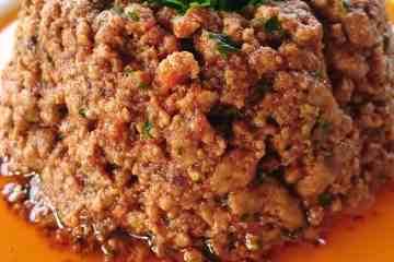 best keto italian ragú aka bolognese sauce