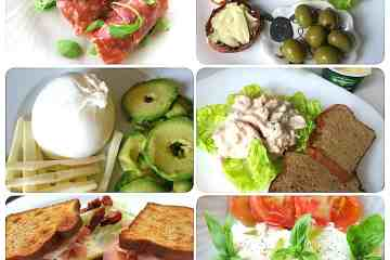 6 Super Quick Keto Lunch Ideas 3g Carbs or less