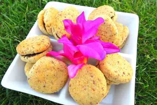 sugar free low carb lady's kisses (baci di dama)