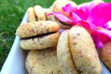 sugar free low carb lady's kisses (baci di dama)