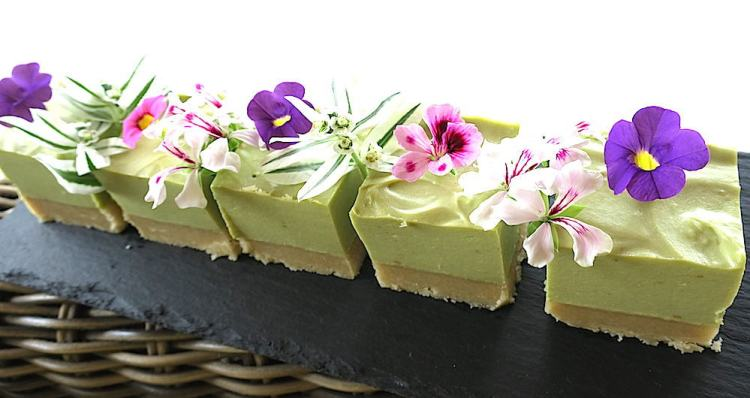 Sugar Free No-Bake Avocado Silk Cake