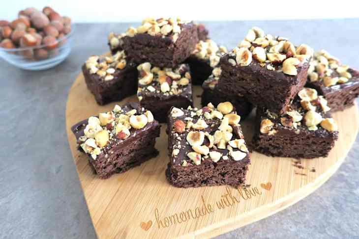 Sugar Free Hazelnut Nut.ella Brownies