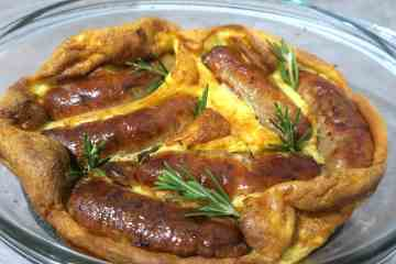 Quick and Simple Keto Toad in the Hole