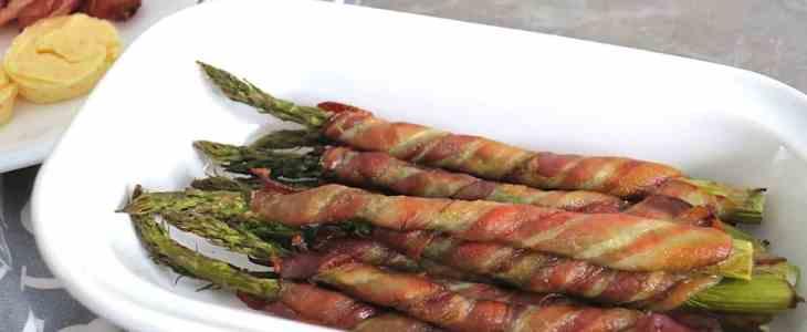 Zero-Carb Bacon-Wrapped Asparagus & Orange Butter