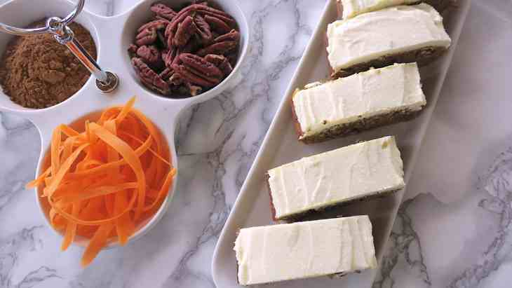 Yummy Scrummy & Moist Keto Sugar Free Carrot Cake