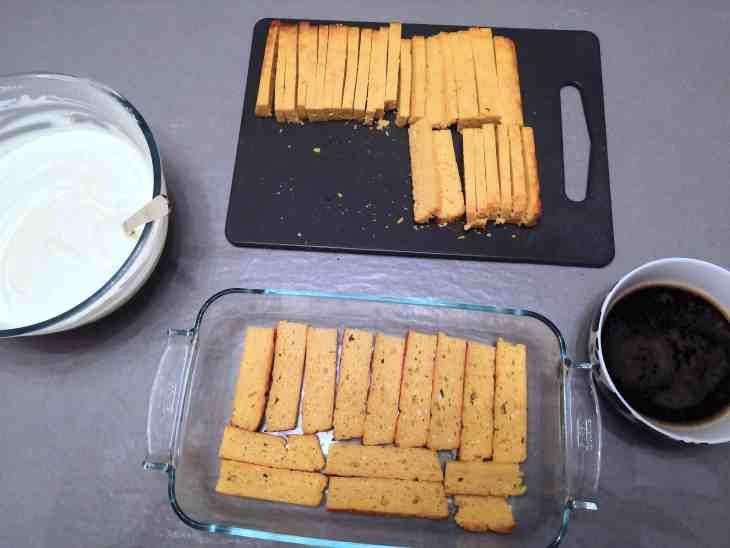 sugar free low carb keto tiramisu