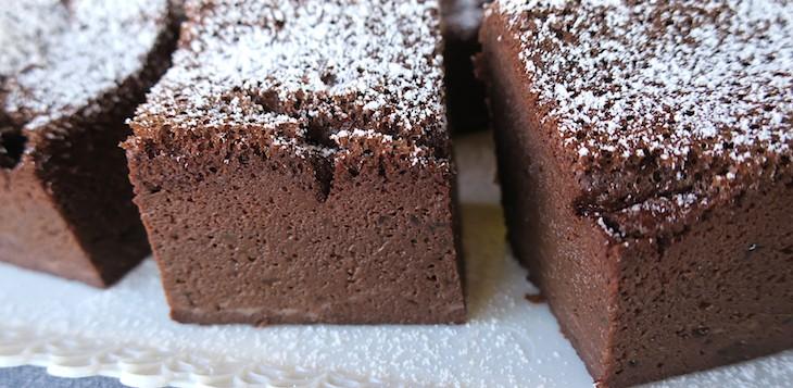 Low Carb & Sugar Free Black Magic Chocolate Torte