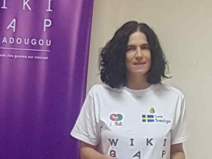 La chargée d'affaires de l'ambassade de Suède, Mia Rimby : « WikiGap est un espoir pour les jeunes femmes »