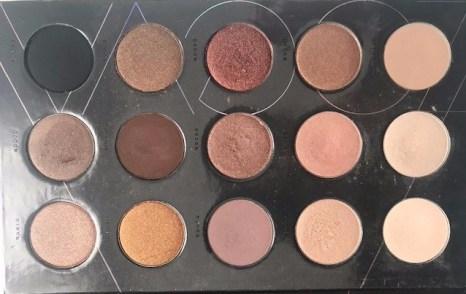 Palette Nude Spectrum de Zoeva