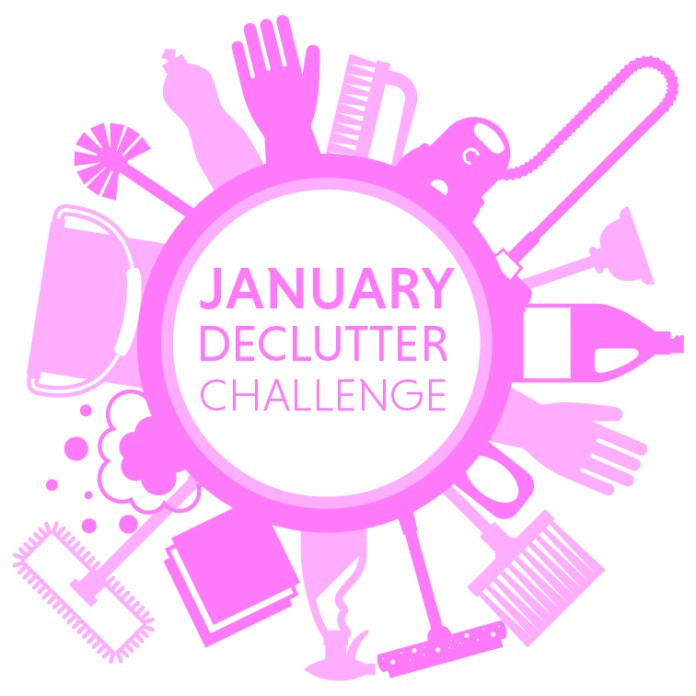 Start your New Year clutter free