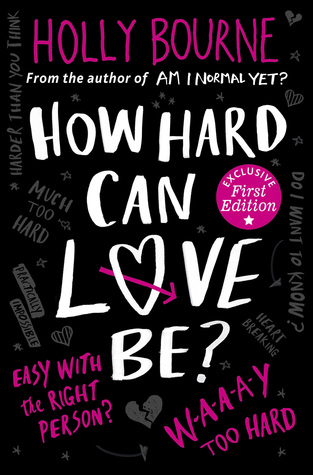 Image result for how hard can love be by holly bourne