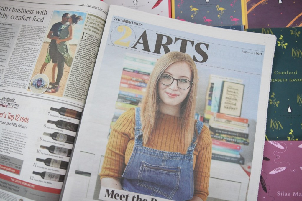 Meet the BookTubers: Being in The Times