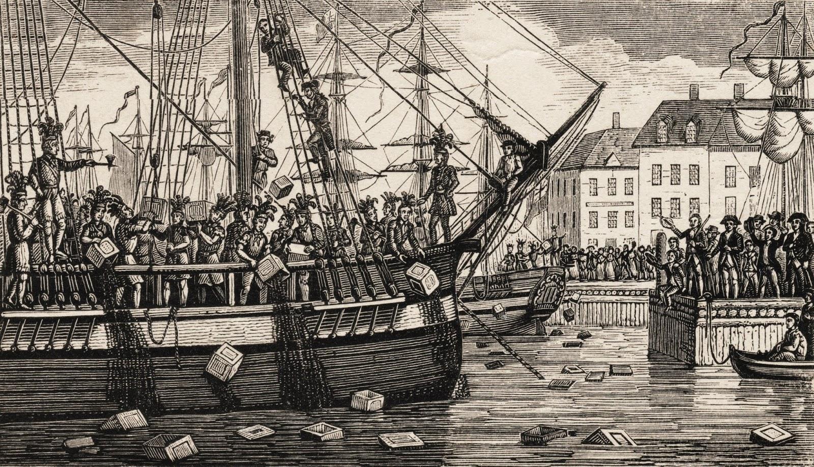 1d Boston Tea Party Print2