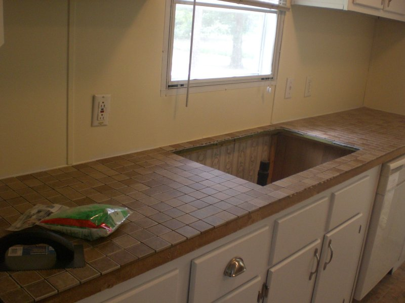 tiling laminate countertops part one