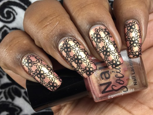 Rose' All Day w/ nail art