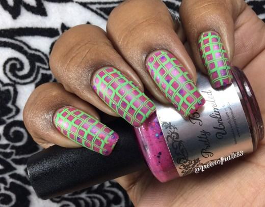 Coral Reef w/ nail art