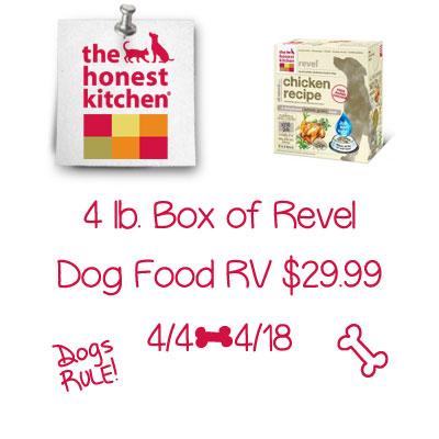 Honest Kitchen Revel Dog Food