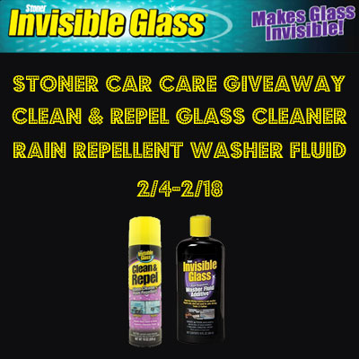 Stoner Car Care Products Giveaway