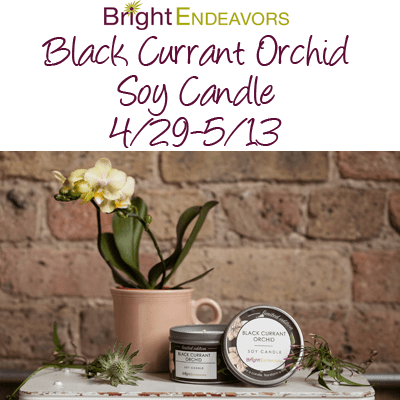 Bright Endeavors Candle Giveaway @brightendeavors