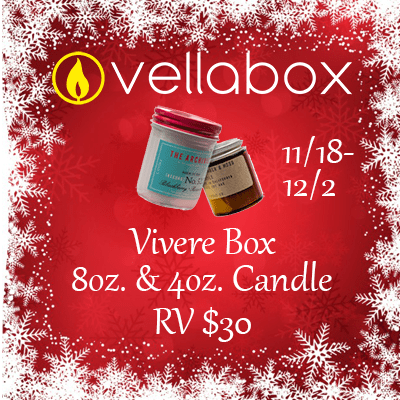 Vellabox 2017 Christmas Giveaway